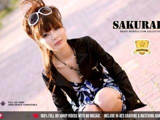 Experienced Japanese woman Sakurako blows and jerks off her