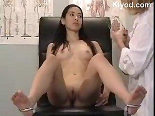 Japanese vagina check up