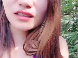 Amateur Asian Sex Outdoors