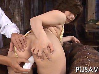 Innocent slut pussy tease