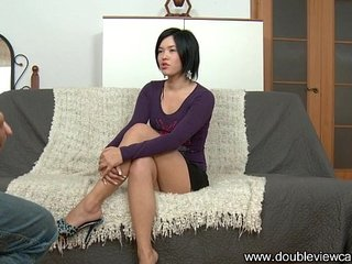 DOUBLEVIEWCASTING.COM - SEXY NETTA MOANS LOUDLY