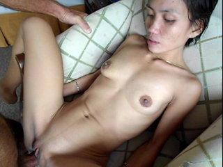 Nice young asian Chloe loves sex on armchair - Part 2 Frt