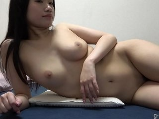 Youthfull Chinese Dame Naked in Her Bedroom