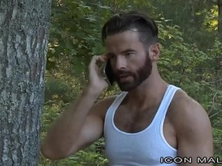 Straight Hairy Daddy Fucks Asian Muscle Behind Wife's Back